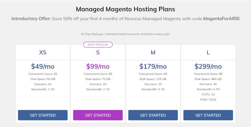 Magento hosting nexcess-net