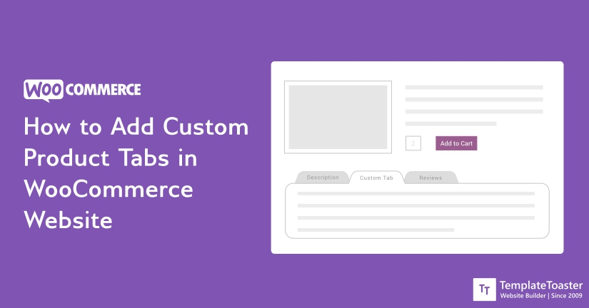 how to add custom product tabs in woocommerce website