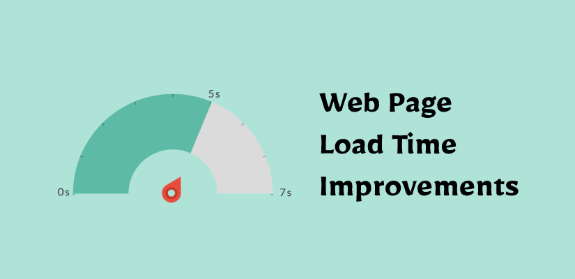 Web Page Load Time Improvements