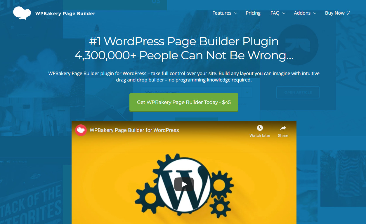 WPBakery Page Builders