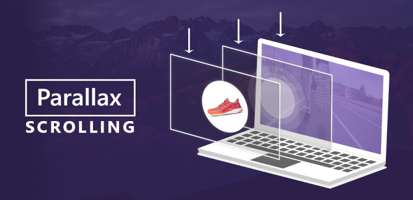 Web Design Trend 2021 Parallax Scrolling